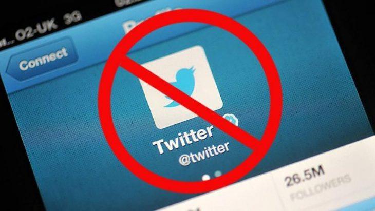 блокировка твиттер