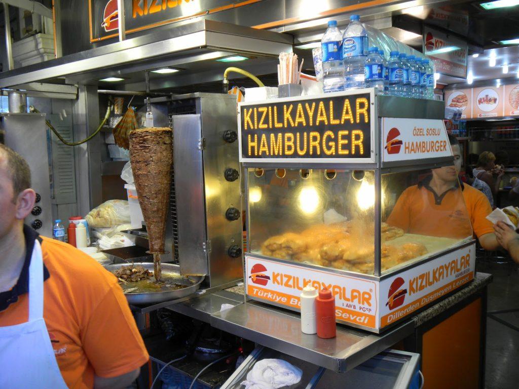 турция, рестораны и кафе, мокрый бургер, kizilkayalar hamburger, интересные новости