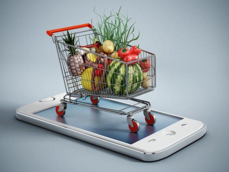 продукты онлайн, сбермаркет, продукты на дом