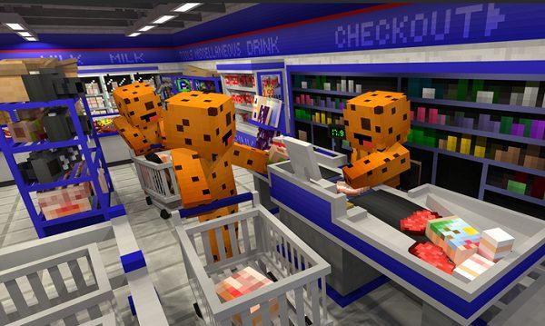 майнкрафт, лента, новости ритейл, Minecraft